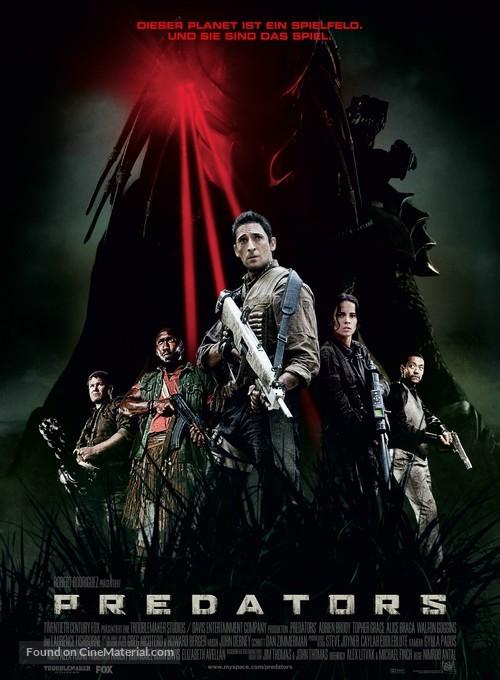 Predators - German Movie Poster