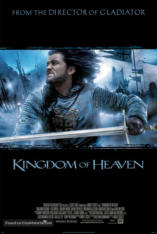 Kingdom of Heaven - Movie Poster