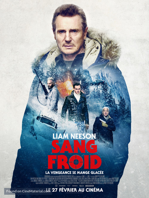 Cold Pursuit - French Movie Poster