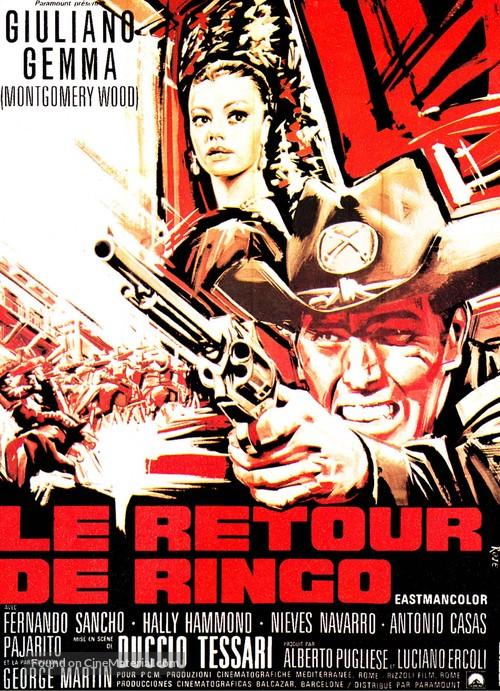 Il ritorno di Ringo - French Movie Poster