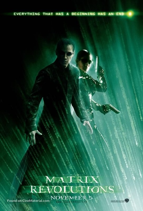 The Matrix Revolutions - Movie Poster