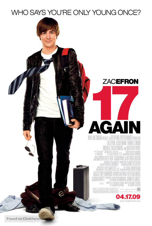 17 Again - Movie Poster