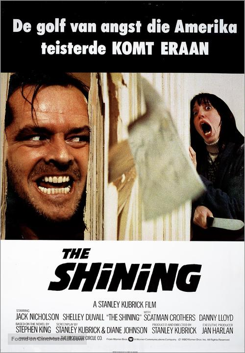 The Shining - Dutch Movie Poster