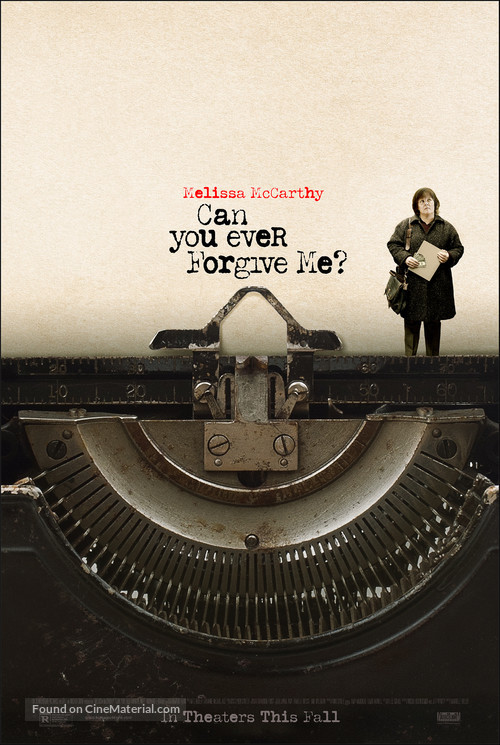 Can You Ever Forgive Me? - Movie Poster