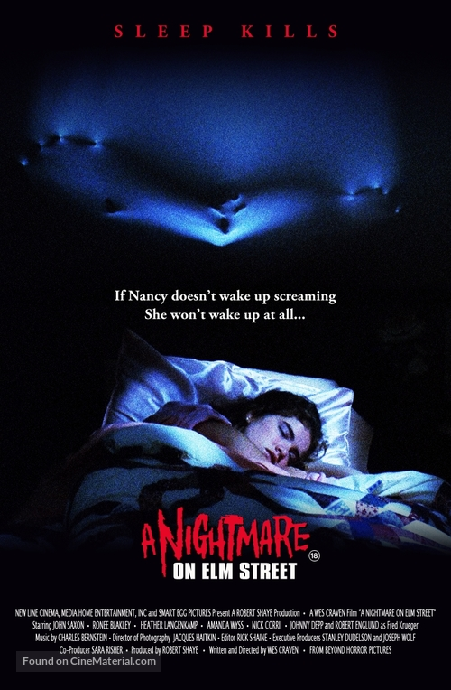 A Nightmare On Elm Street - Movie Cover