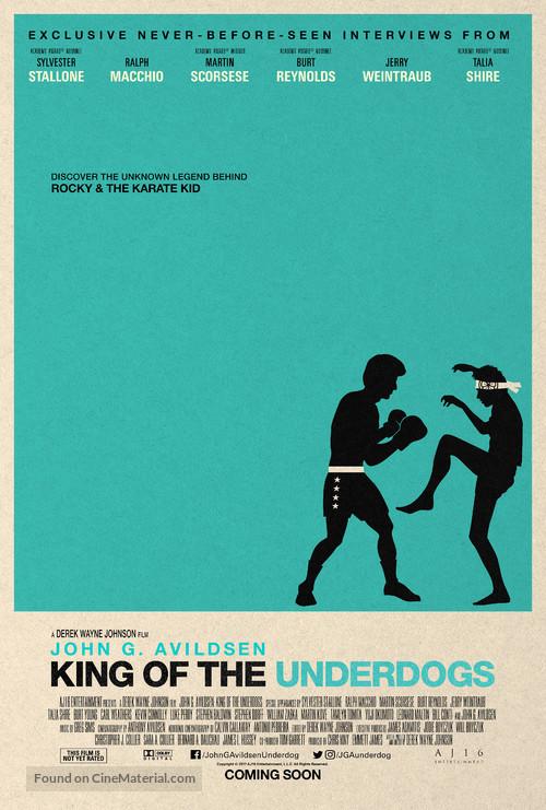 John G. Avildsen: King of the Underdogs - Movie Poster