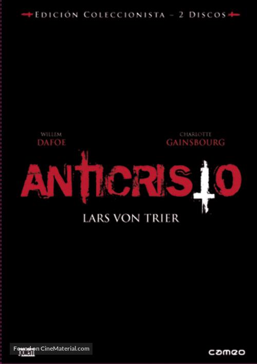 Antichrist - Spanish DVD movie cover