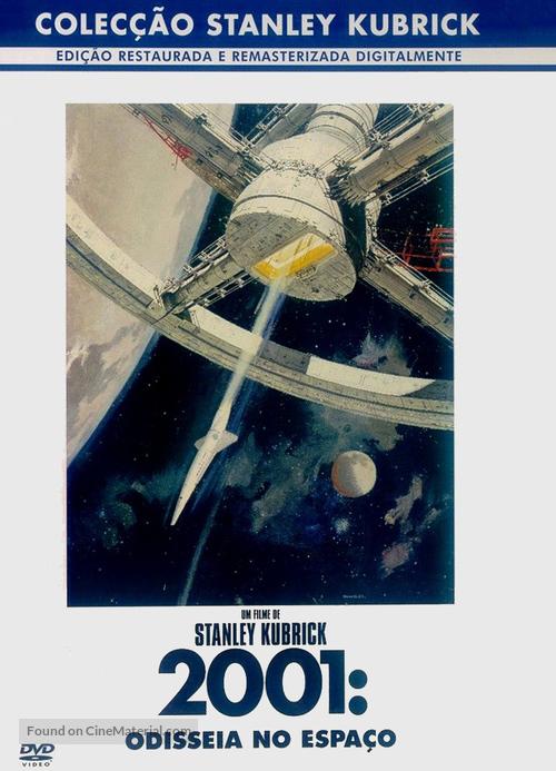 2001: A Space Odyssey - Portuguese Movie Cover