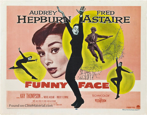 Funny Face - Theatrical movie poster