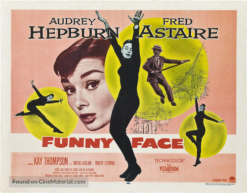 Funny Face - Theatrical poster
