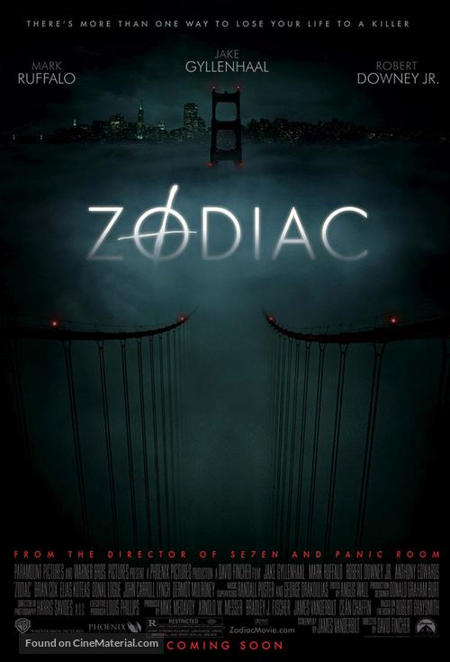 Zodiac - Movie Poster
