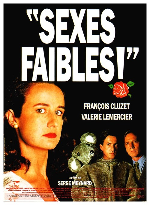 Sexes faibles! - French Movie Poster