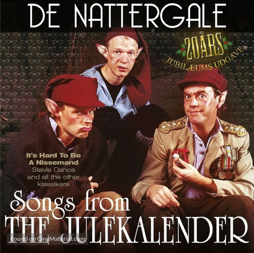 """The julekalender"" - Danish Movie Cover"