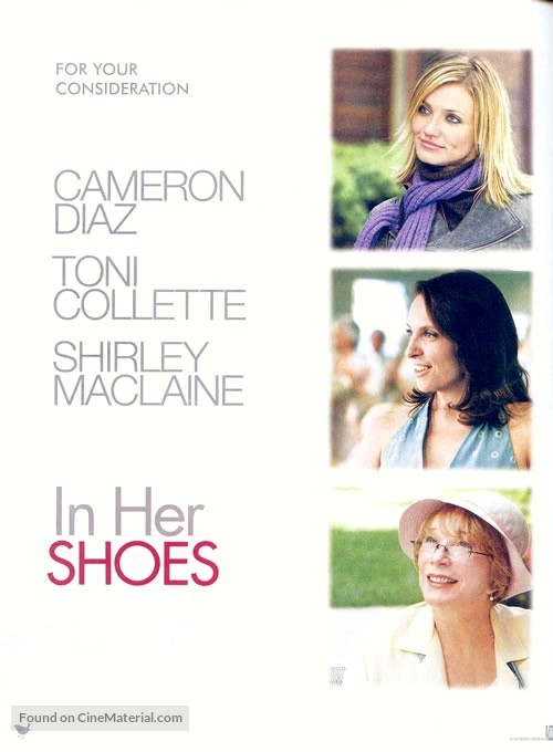 In Her Shoes - DVD movie cover