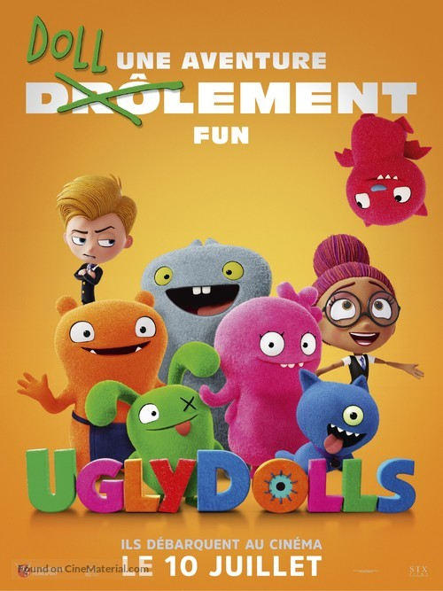 UglyDolls - French Movie Poster