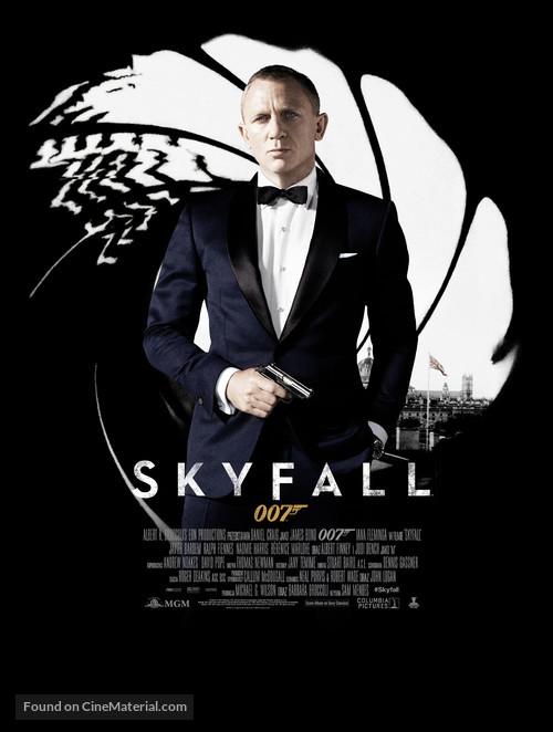 Skyfall - Polish Movie Poster