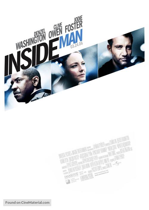 Inside Man - Movie Poster