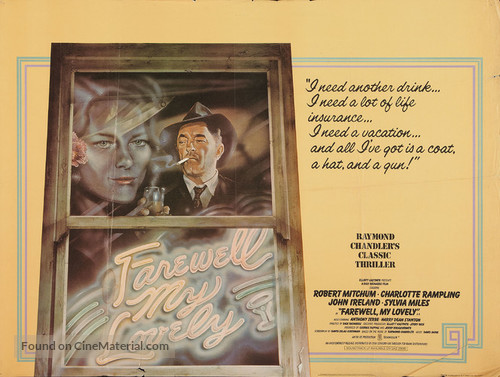 Farewell, My Lovely - British Movie Poster