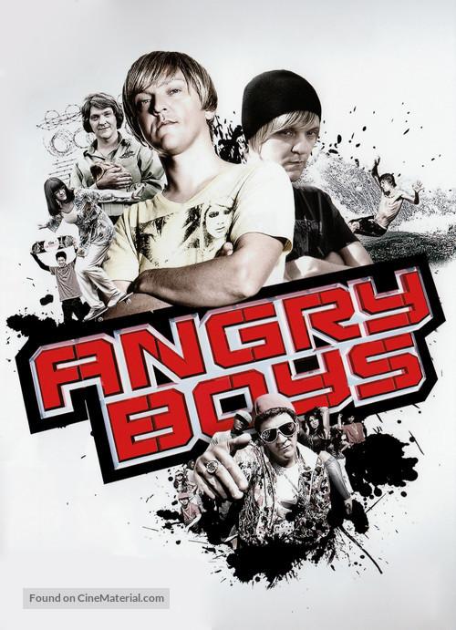 """Angry Boys"" - Australian Movie Poster"