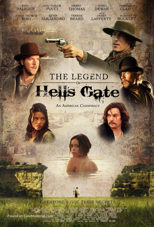 The Legend of Hell's Gate: An American Conspiracy - Movie Poster