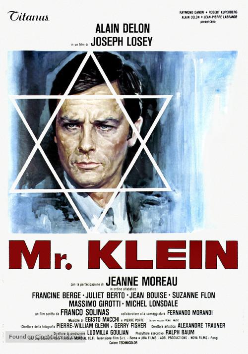 Monsieur Klein - Italian Movie Poster