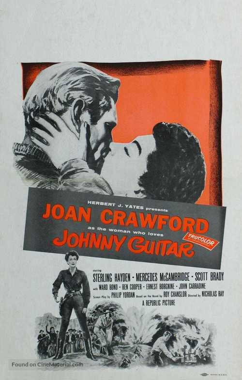 Johnny Guitar - Movie Poster