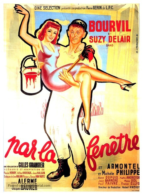 Par la fenêtre - French Movie Poster