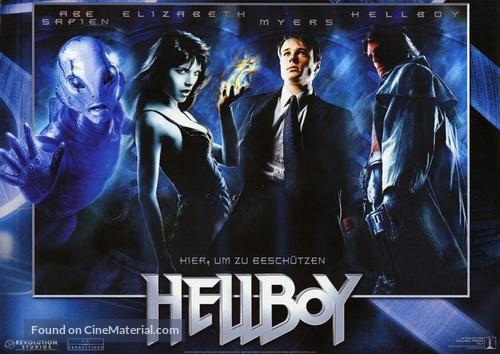 Hellboy - German Movie Poster