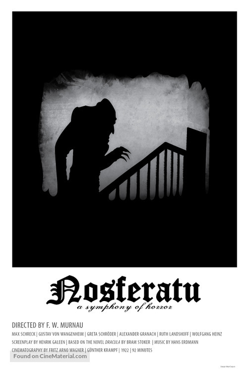 Nosferatu, eine Symphonie des Grauens movie poster