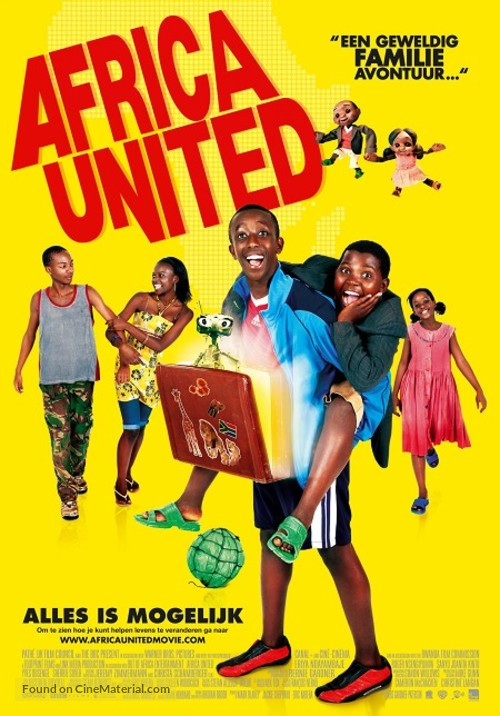 Africa United - Dutch Movie Poster