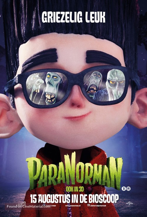 ParaNorman - Dutch Movie Poster