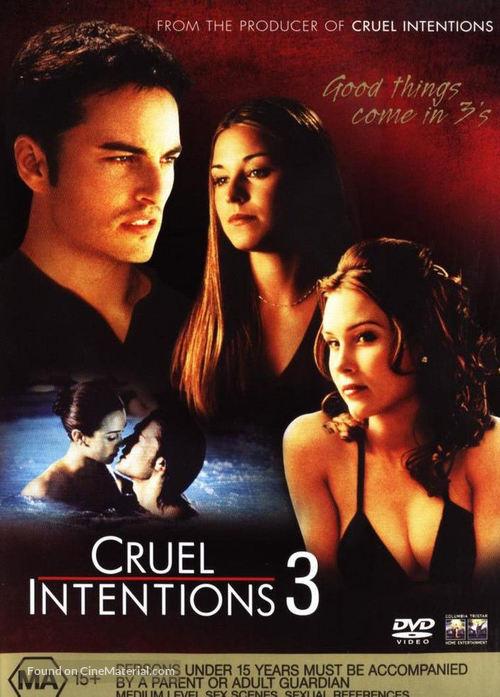 Cruel Intentions 3 (2004) Australian movie poster