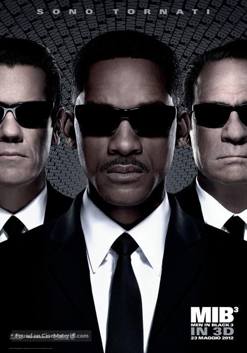 Men in Black 3 - Italian Movie Poster