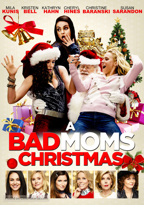 A Bad Moms Christmas 2017.A Bad Moms Christmas 2017 Movie Cover