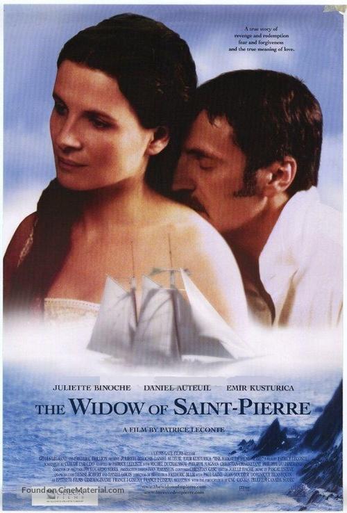 La veuve de Saint-Pierre - Movie Poster