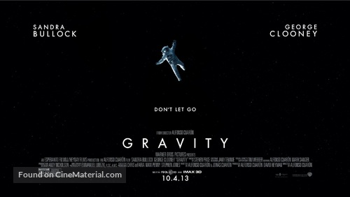 Gravity - Theatrical poster