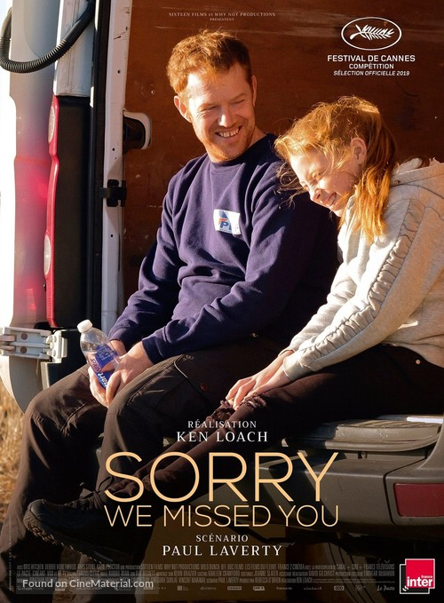 Sorry We Missed You - French Movie Poster