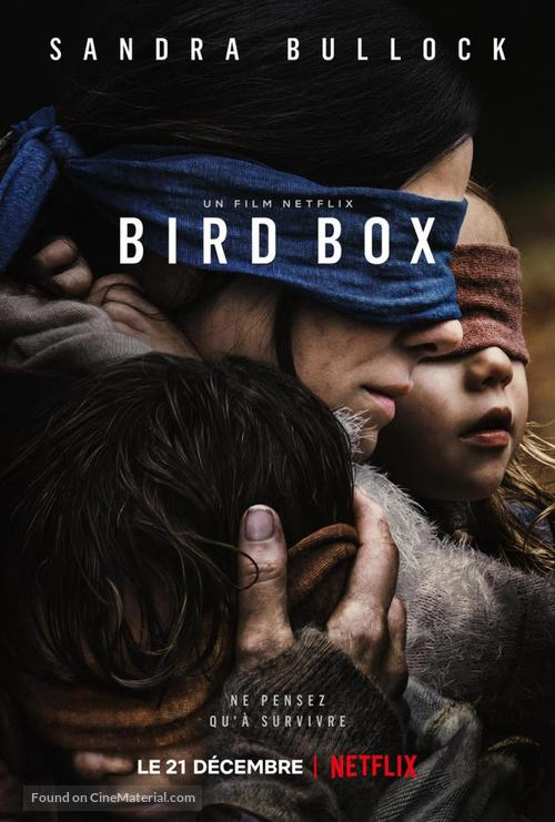 bird box french movie poster