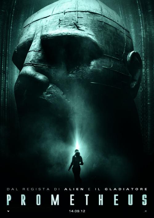 Prometheus - Italian Movie Poster