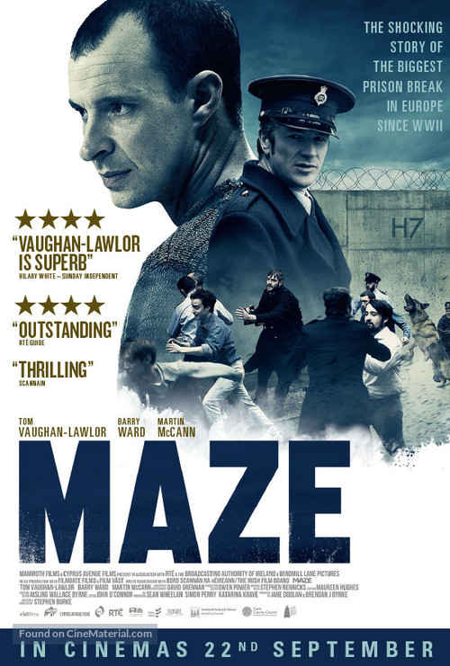 Maze - British Movie Poster