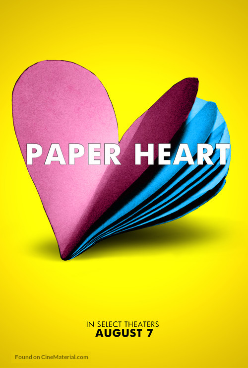 Paper Heart - Movie Poster