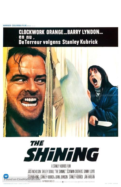 The Shining - Belgian Movie Poster