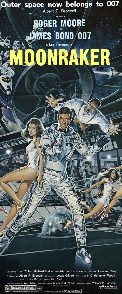 Moonraker - Australian Movie Poster