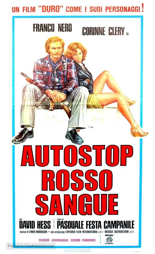 Autostop rosso sangue - Italian Movie Poster