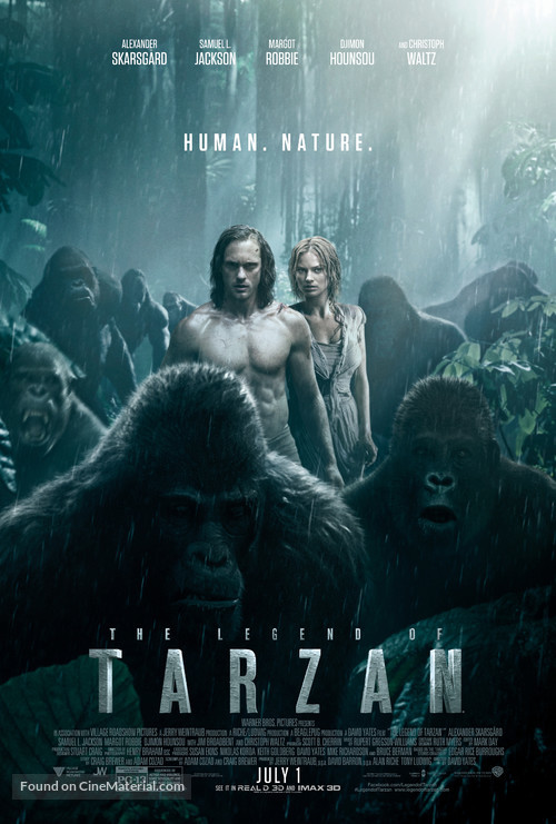 The Legend of Tarzan - Movie Poster