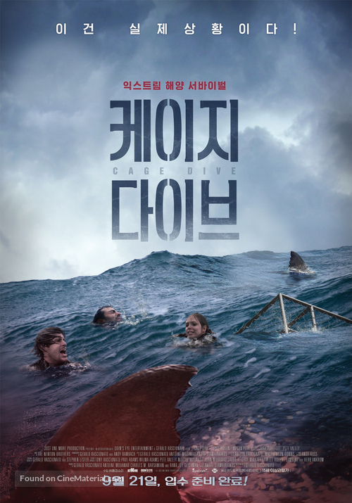 Cage Dive - South Korean Movie Poster