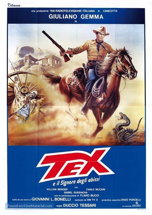 Tex e il signore degli abissi - Italian Movie Poster