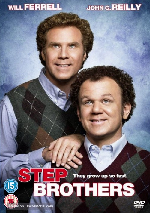 Step Brothers - British Movie Cover