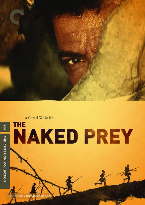 The Naked Prey - DVD movie cover