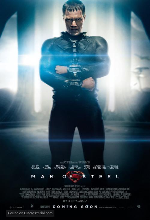 Man of Steel - British Movie Poster